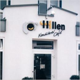 Einladend: Konditorei Café Hillen