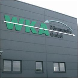 Zeigt Profil: Fassadengestaltung für WKA