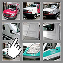 Demo - die Verwandlung Fahrzeug Vollverklebung