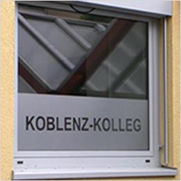 Statt Vorhang: Koblenz Kolleg